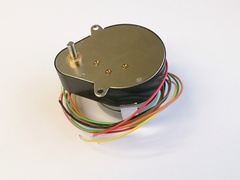 heater stepper motor