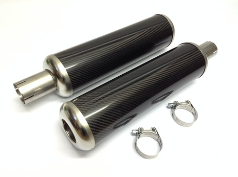 CARBON EXHAUST CANS