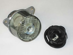 Rear tinted flasher lamp