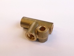 3 WAY BRASS UNION
