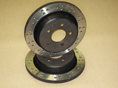 Rear brake disc 298mm