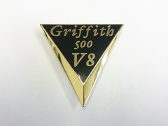 GRIFFITH V8 GUILD BADGE