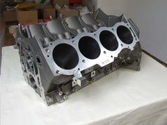 Rover V8 engine block