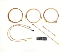 COPPER BRAKE PIPE KIT