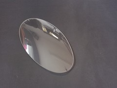 Front upper headlamp lens (rh)