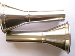 STAINLESS STEEL DECAT CONES