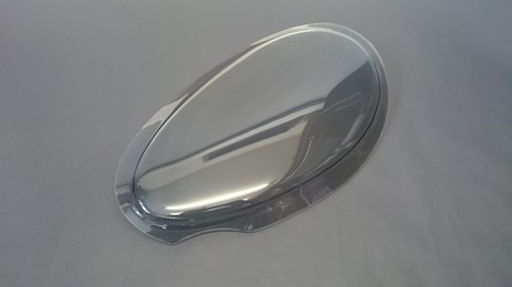GRIFFITH TINTED LH HEADLAMP LENS