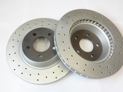 A P Racing 322mm front brake disc