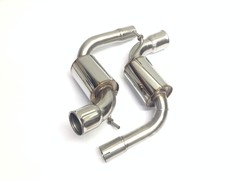 Sports exhaust T350