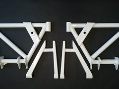 REAR WISHBONE SET