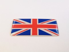 UNION JACK FLAG STICKER BADGE