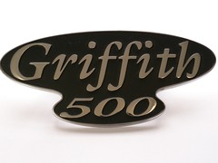 GRIFFITH 500 BADGE