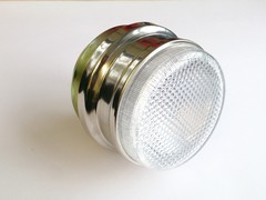Clear front flasher lamp