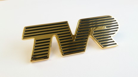 GOLD TVR BADGE
