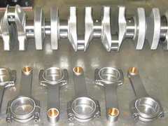 Speed 6, 4.3 billet crankshaft & con rod kit