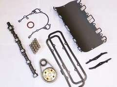 V8 camshaft overhaul kit (serp)