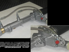 STEERING RACK BRAIDED PIPES