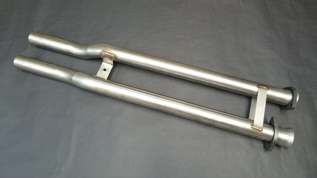Cerbera centre link pipes (cat to tail pipes)