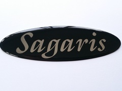 SAGARIS BOOT BADGE