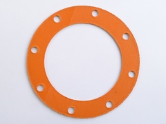 manifold to y piece gasket (large diameter 8 hole)