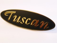 GOLD TUSCAN BADGE