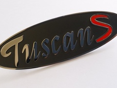 TUSCAN S BOOT BADGE