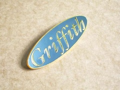 Griffith boot badge (gold)