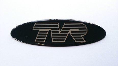 TVR BADGE 110 X 25MM