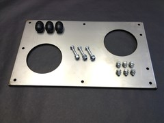 EXHAUST SILENCER UNDERTRAY
